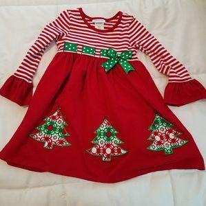 Girls size 5 Christmas dress